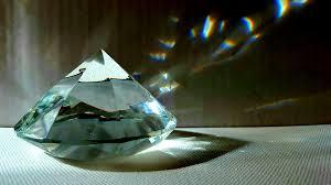 El camino de diamantes de cemento