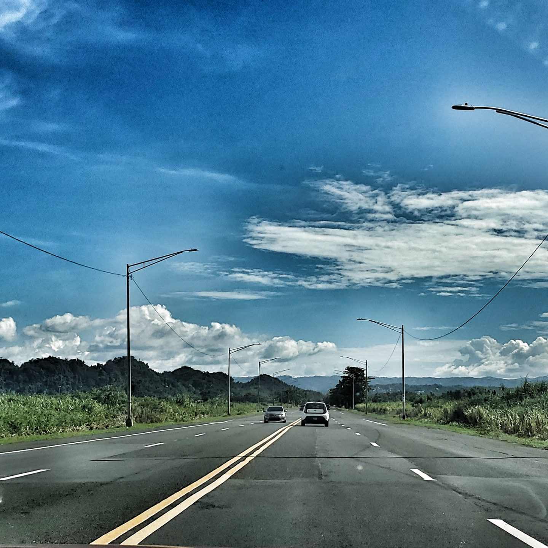 Velocidad en la carretera 693