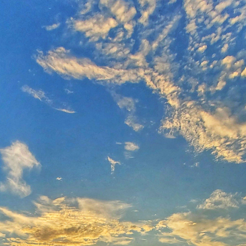 Nubes entre el mundo